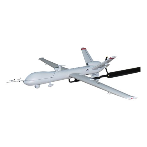 17 RS MQ-9 Reaper Custom Airplane Model Briefing Stick