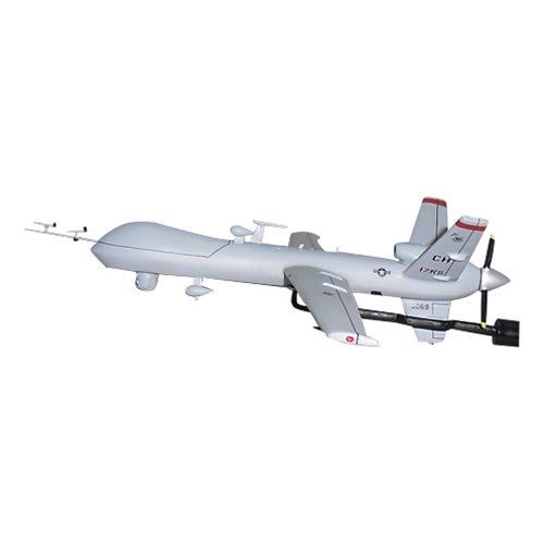 17 RS MQ-9 Reaper Custom Airplane Model Briefing Stick - View 3