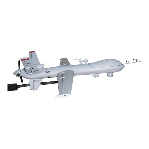17 RS MQ-9 Reaper Custom Airplane Model Briefing Stick - View 4