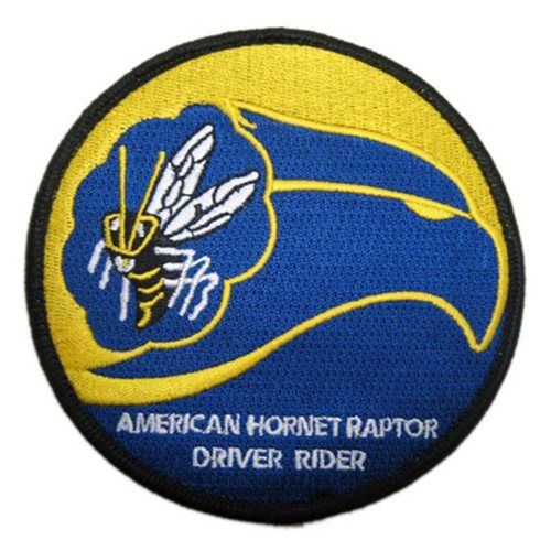 43 FS Raptor Driver Rider Patch