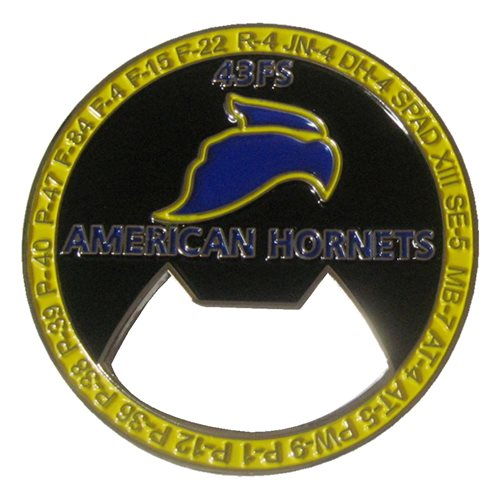 43 FS Bottle Opener Challenge Coin - View 2