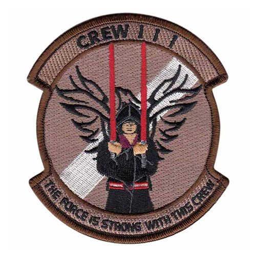 964 AACS Crew 111 Patch