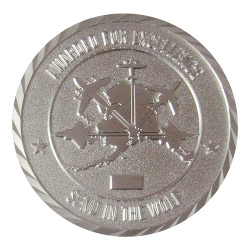 3 OSS Commander Coin - View 2