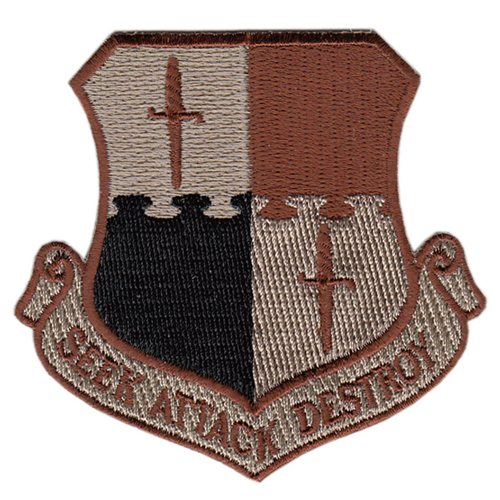 52 FW Desert Wing Patch