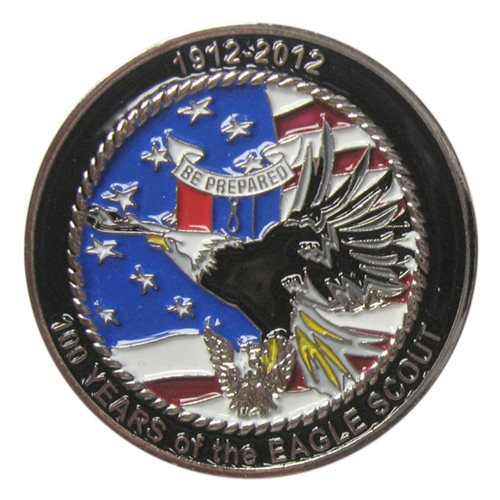 BSA Lewis and Clark 2013 Challenge Coin