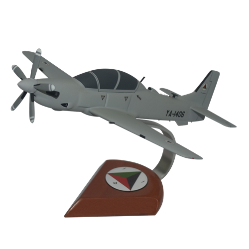 Afghan Air Force A-29 Tucano Custom Airplane Model