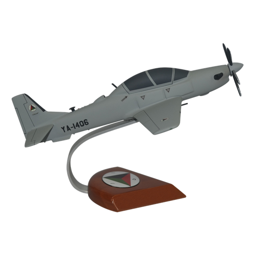 Afghan Air Force A-29 Tucano Custom Airplane Model  - View 4