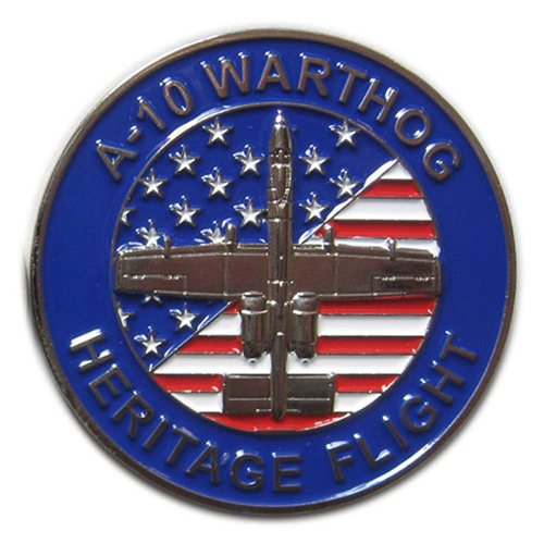 A-10 East Demo Team Custom Air Force Heritage Challenge Coin - View 2