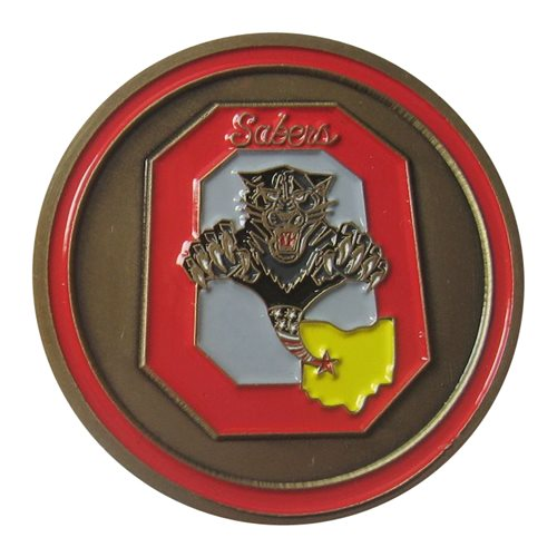 162 ATKS Challenge Coin - View 2