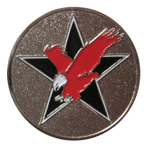 53 TEG DET 3 Red Eagles Coin  - View 2