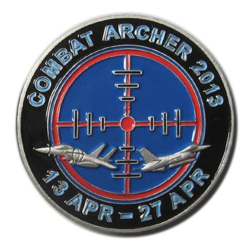 Combat Archer 2013 Coin Custom Air Force Challenge Coin - View 2