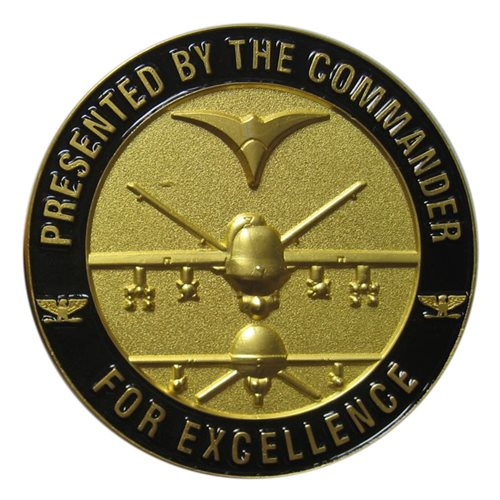 432 WG Commander Challenge Coin - View 2