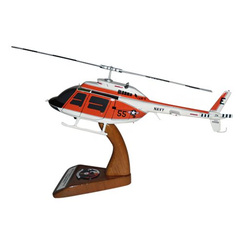 HT-18 TH-57 Custom Helicopter Model - View 2