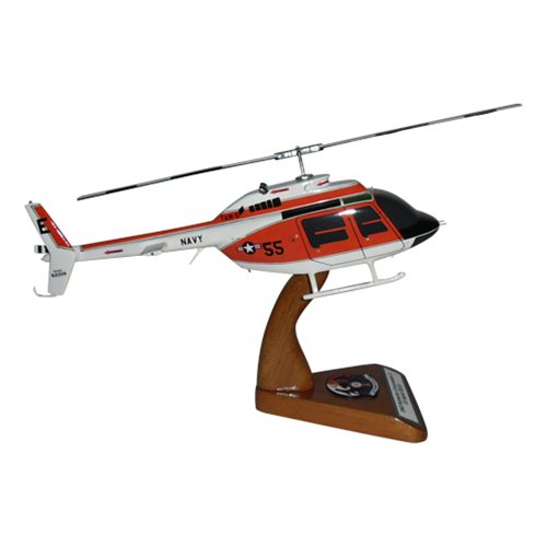 HT-18 TH-57 Custom Helicopter Model - View 4