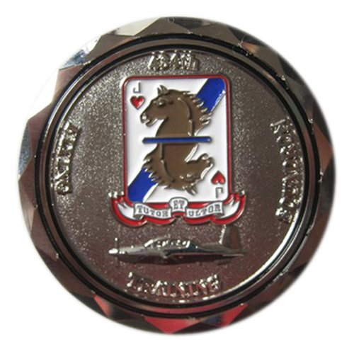 434 FTS Commander Coin Custom Air Force Challenge Coin - View 2