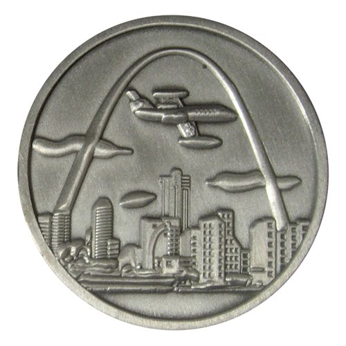 458 AS Challenge Coin - View 2