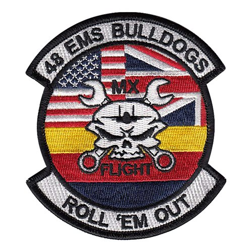 48 EMS Bulldogs Patch