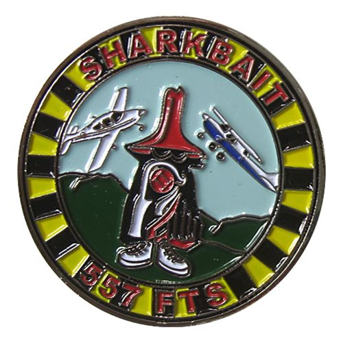 557 FTS Challenge Coin