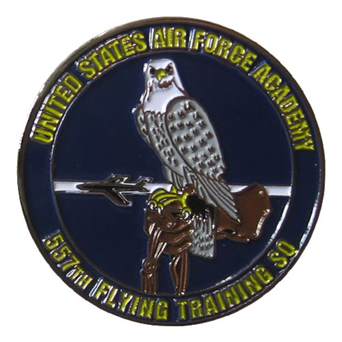 557 FTS Challenge Coin - View 2