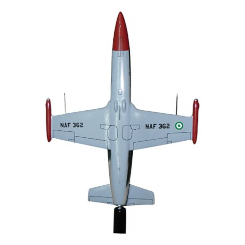 L-39ZA Nigeria L-39 Albatros Custom Airplane Model Briefing Sticks - View 5