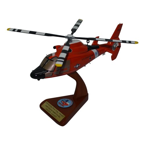 CGAS Houston MH-65 Custom Helicopter Model