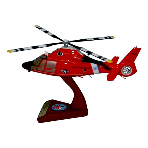 CGAS Houston MH-65 Custom Helicopter Model - View 2