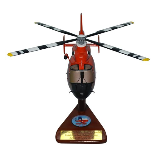CGAS Houston MH-65 Custom Helicopter Model - View 3