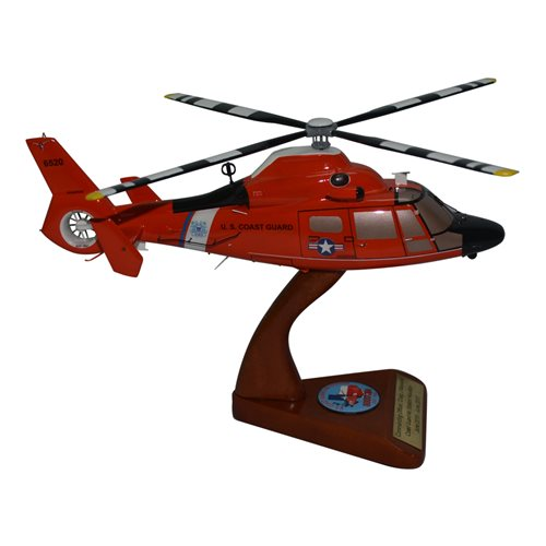 CGAS Houston MH-65 Custom Helicopter Model - View 4