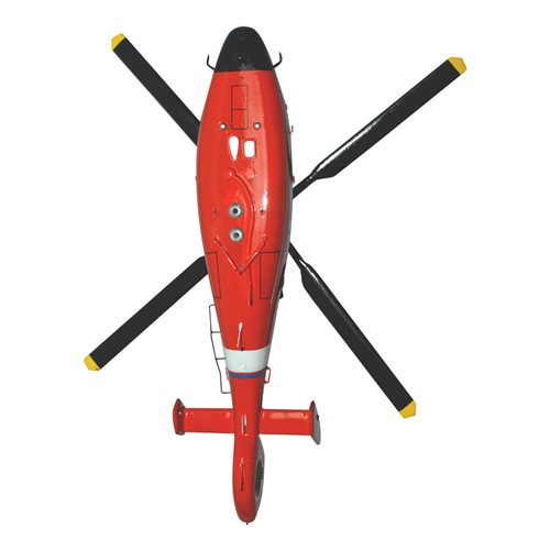 CGAS Houston MH-65 Custom Helicopter Model - View 6