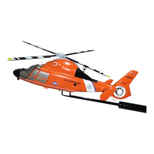 CGAS Houston MH-65D Dolphin Custom Airplane Model Briefing Sticks