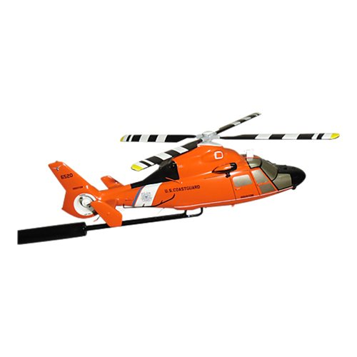 CGAS Houston MH-65D Dolphin Custom Airplane Model Briefing Sticks - View 2