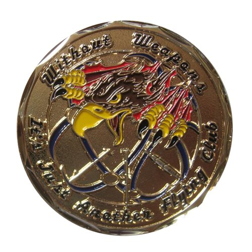 428 Weapons Squadron Coin
