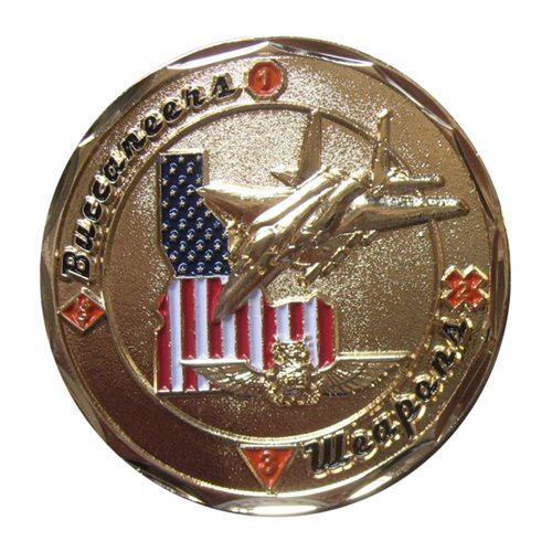 428 Weapons Squadron Coin - View 2