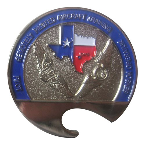 558 FTS Bottle Opener Coin  - View 2