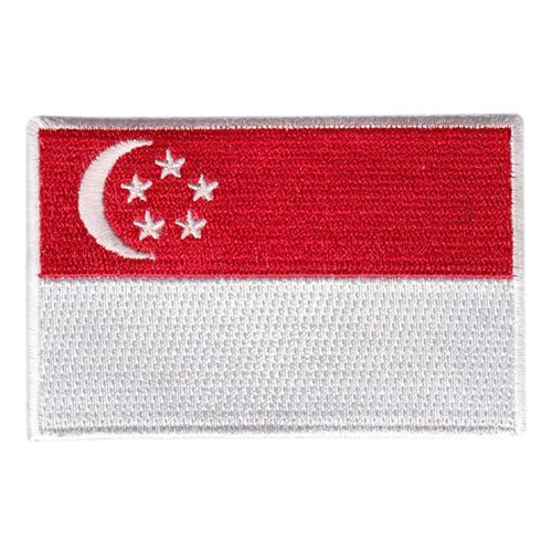 428 FS Singapore Flag Patch
