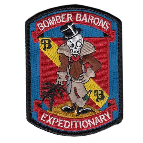 23 EBS Bomber Baron Patch