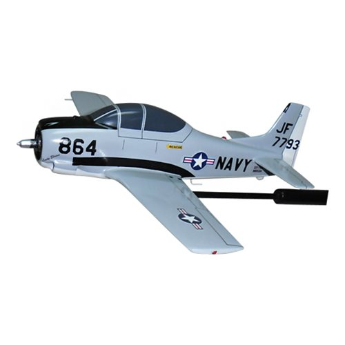 NAVY T-28C Trojan Custom Airplane Model Briefing Stick