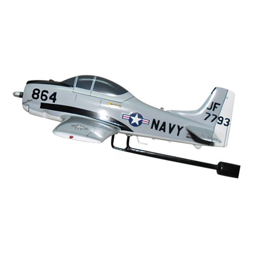 NAVY T-28C Trojan Custom Airplane Model Briefing Stick - View 2