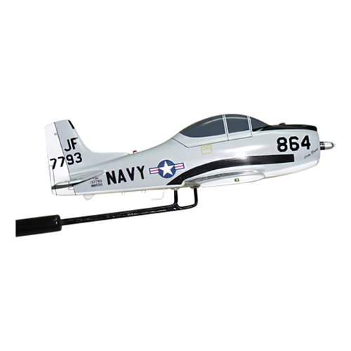 NAVY T-28C Trojan Custom Airplane Model Briefing Stick - View 3