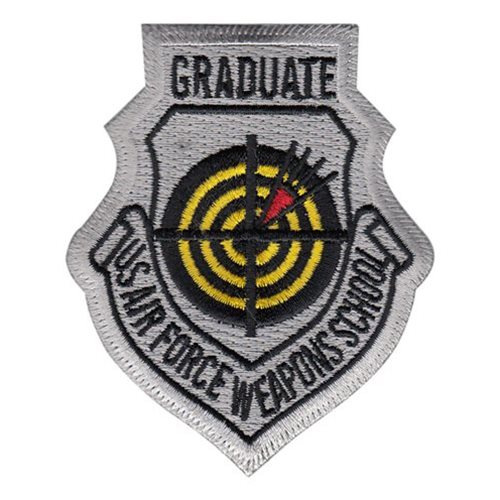 USAF Weapons School Graduate Color Patch