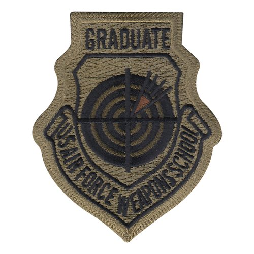 USAF Weapons School Graduate MultiCam OCP Patch