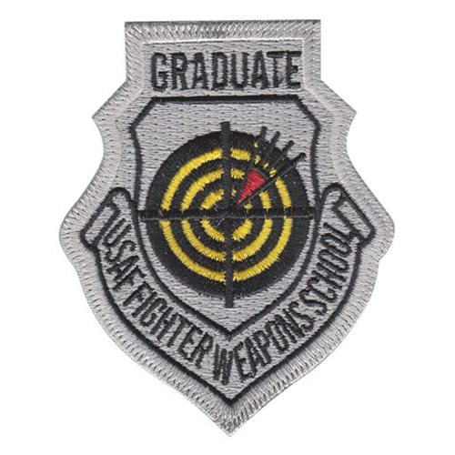 USAF Fighter Weapons School Graduate Patch