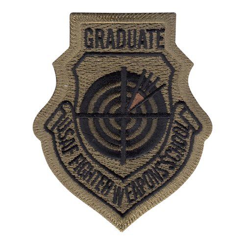 Fighter Weapons School Graduate MultiCam Patch