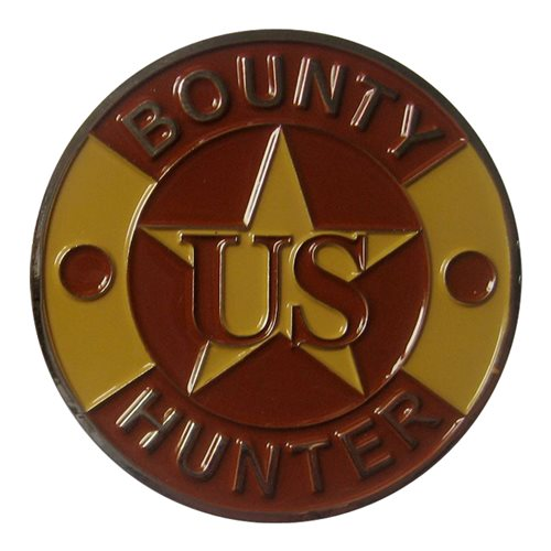 16 SPS Bounty Hunter Challenge Coin - View 2