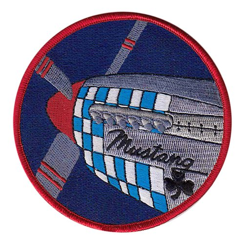 434 FTS Mustang Flight Patch