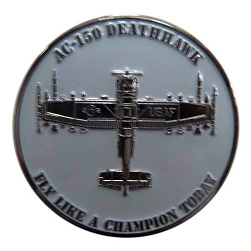 USAFA Flying Team Coin - View 2