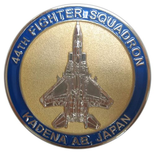 44 FS RMO Challenge Coin - View 2