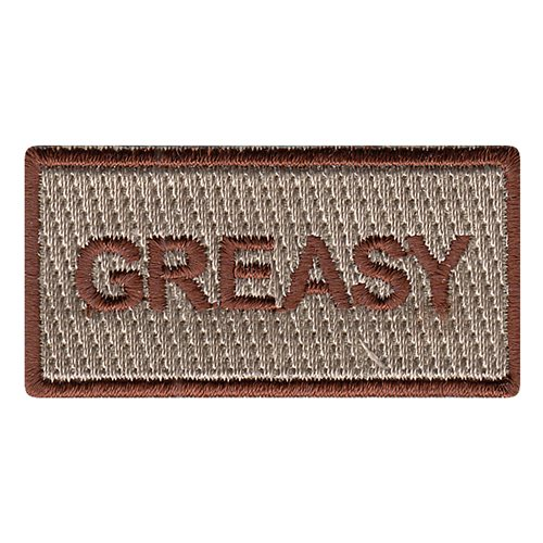 Greasy Pencil Patch