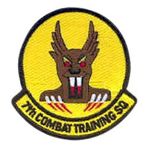 7th Combat Training Squadron (7 CTS) Patches