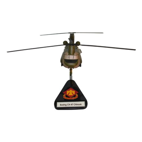 45 ID CH-47 Chinook Custom Aircratf Model  - View 3